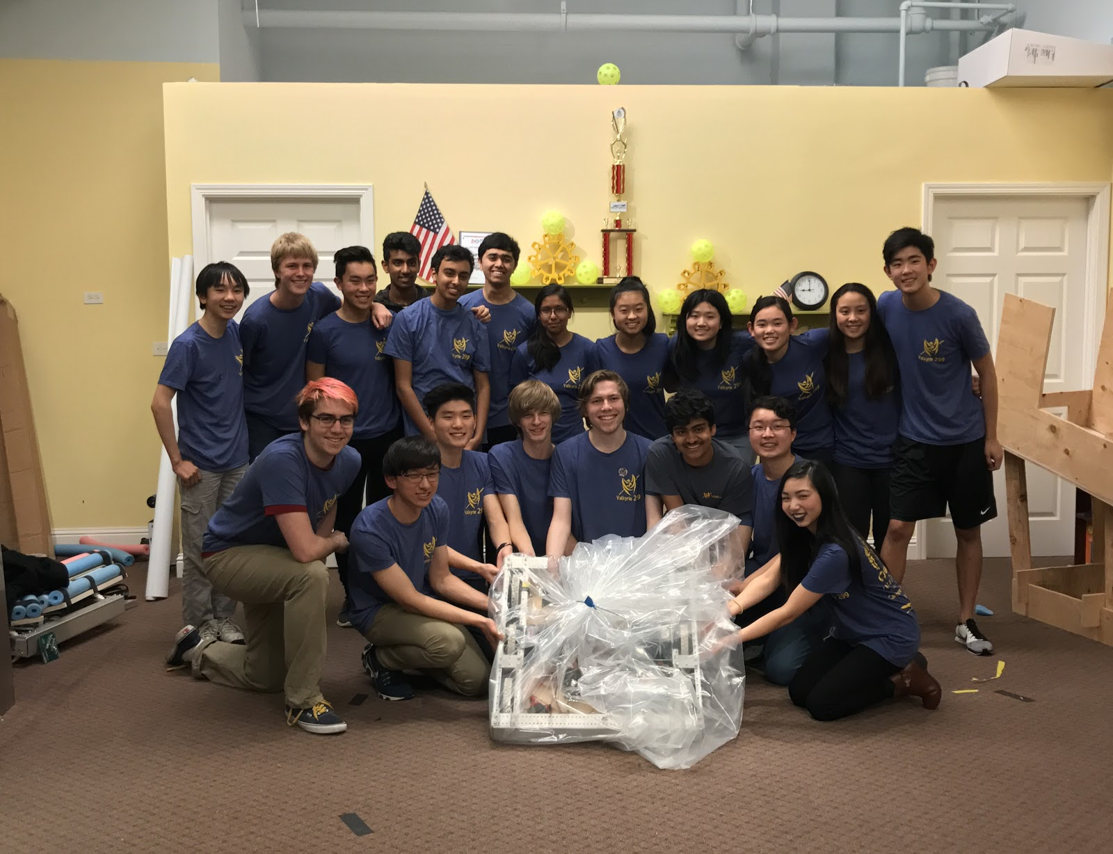 Valkyrie Robotics on Stop Build Day
