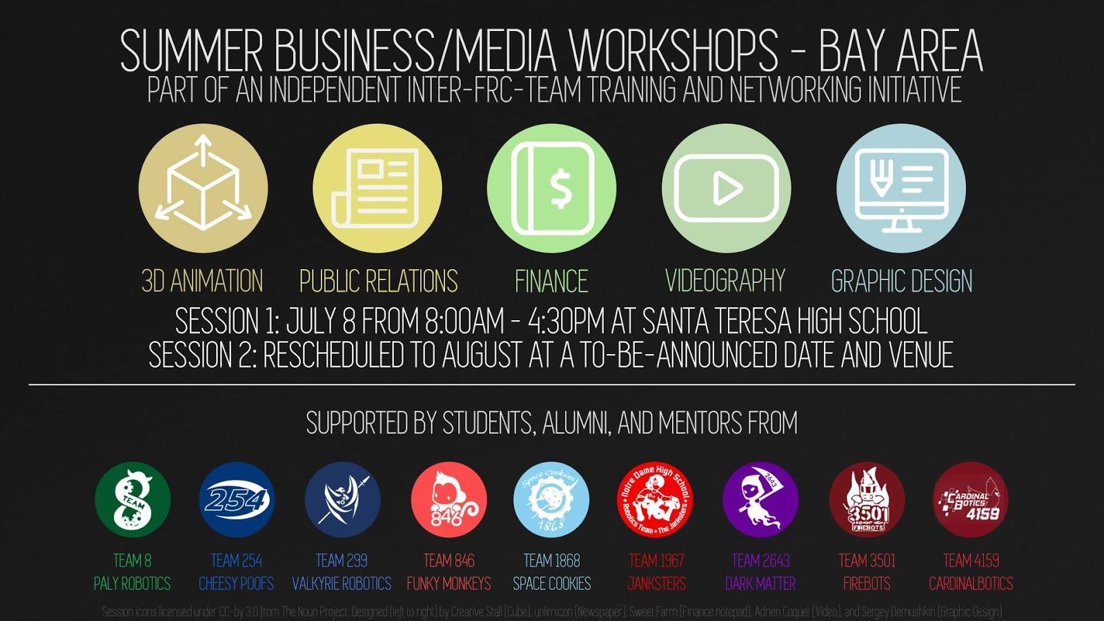 Workshops Promo Poster